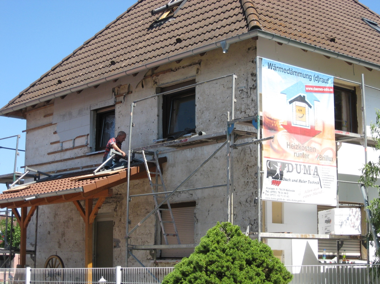graben neudorf wdvs speidel dach und fassadenbau. Black Bedroom Furniture Sets. Home Design Ideas