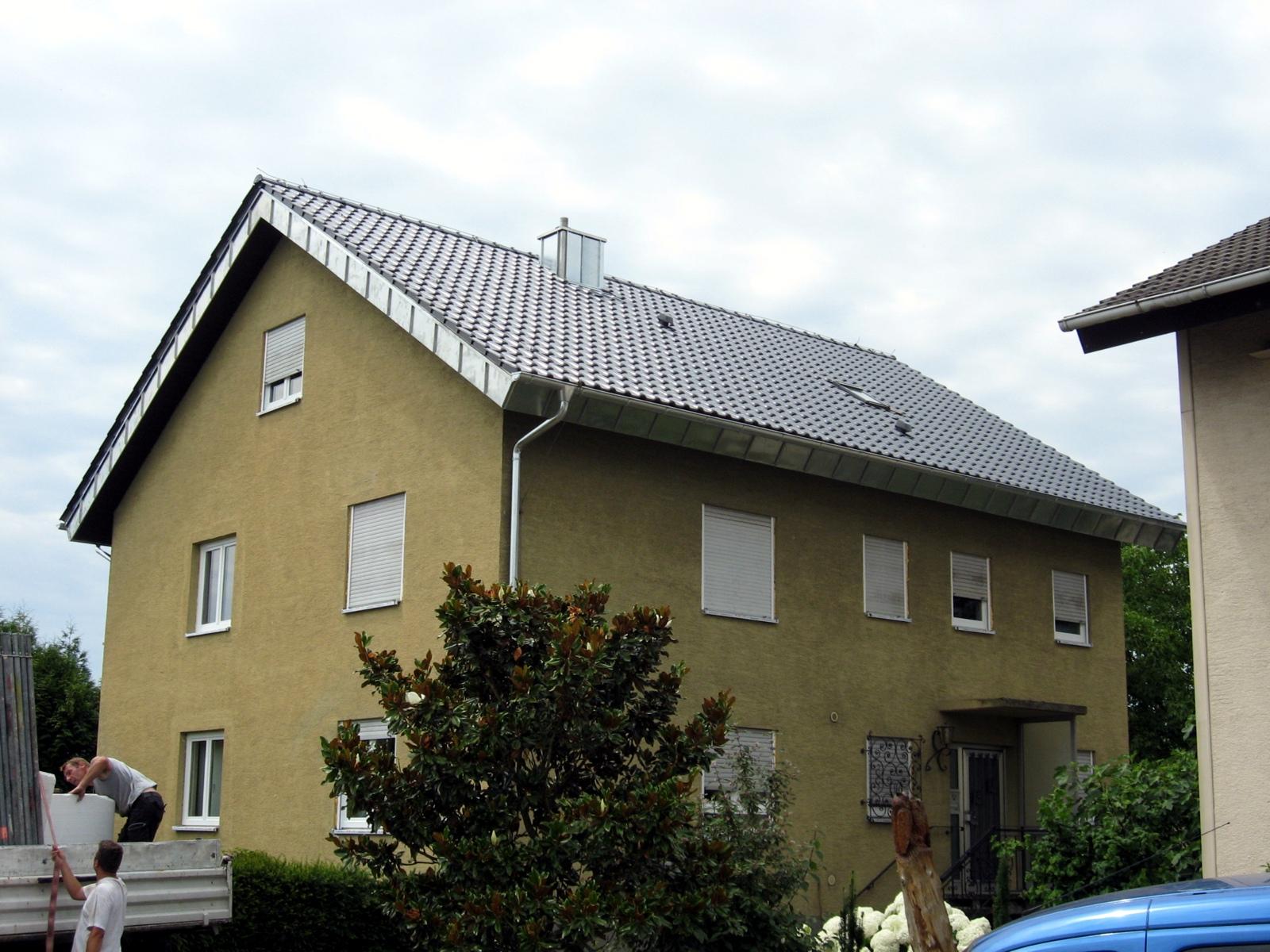 au am rhein steildach speidel dach und fassadenbau. Black Bedroom Furniture Sets. Home Design Ideas