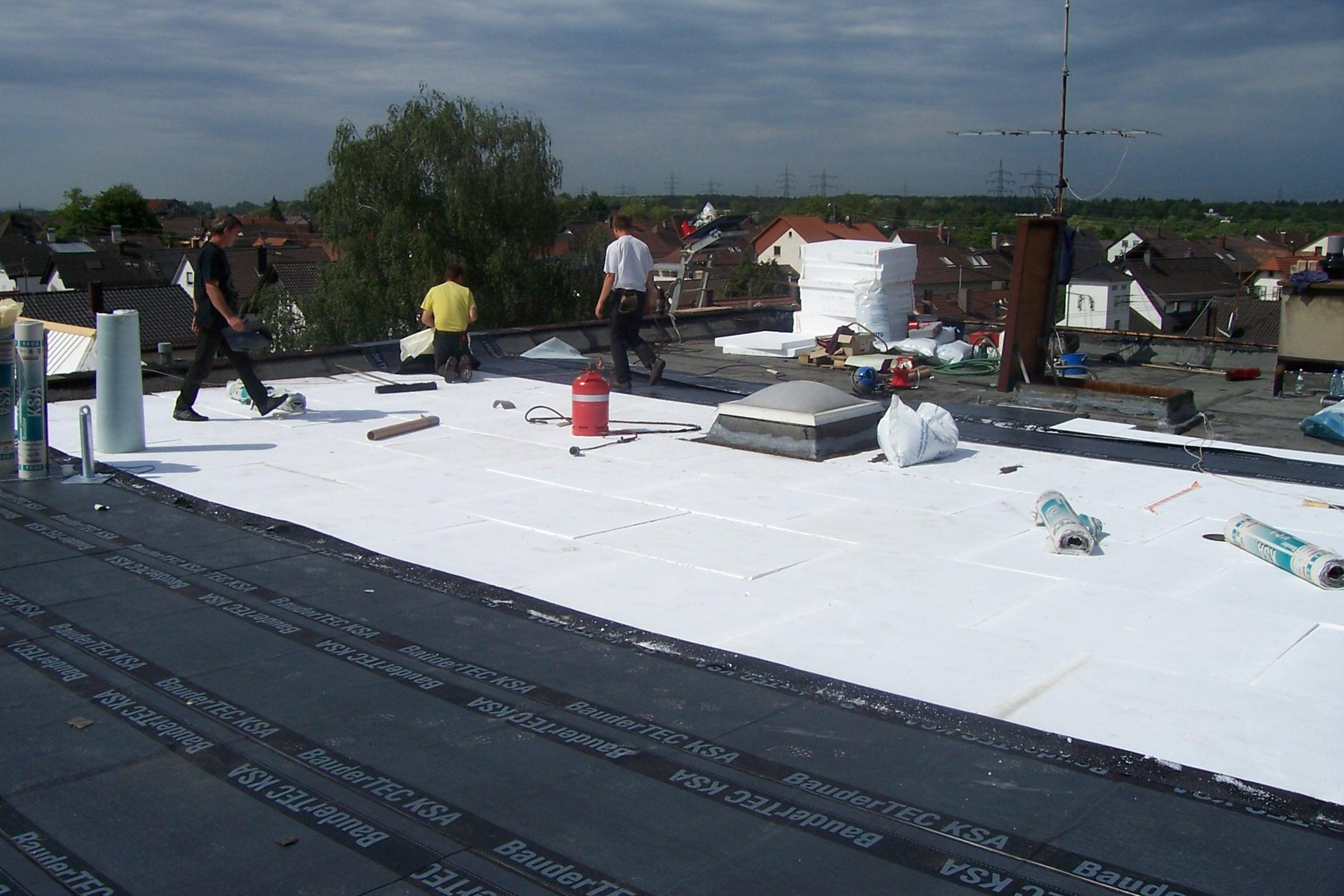 Flachdachsanierung Speidel Dach Und Fassadenbau